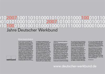 100 Jahre Deutscher Werkbund