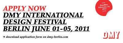 DMY 2011 Anmeldung International Design Festival Berlin