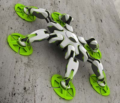 kletter roboter Kunsthochschule Berlin Weißensee Japanese Design Foundation 2007 Niklas Galler