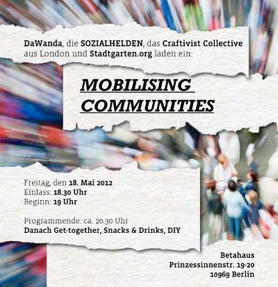 social design community berlin dawanda sozialhelden craftivist collective stadtgarten betahaus