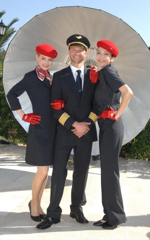 Jette Joop Air Berlin Uniform