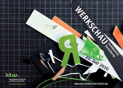 htw berlin gestaltung design werkschau 2010