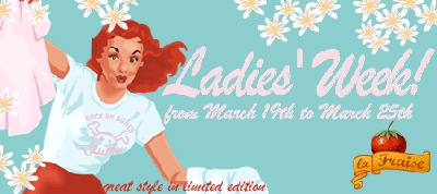laFraise ladies week spreadshirt