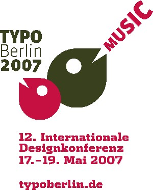 Typo Berlin 2007 Internationale Designkonferenz