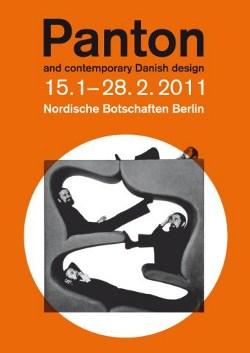 Verner Panton Ausstellung Nordische Botschaften Berlin 2011 dänisches Design