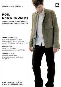 poil collection showroom create berlin