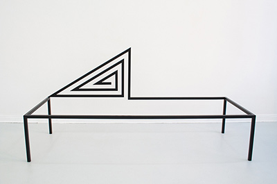 ausstellung stahl stühle galerie berlin kunst design