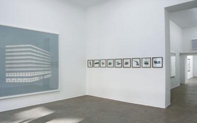 gallery ausstellung architektur papier