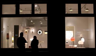 design gallery berlin leuchten ausstellung