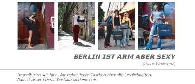 berlin ist arm aber sexy wowereit tasche