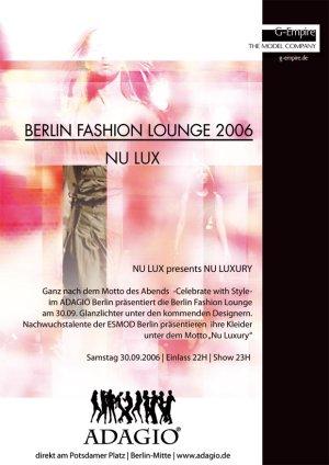 berlin fashion lounge nu lux luxery adagio esmod