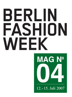 berlin fashion week 2007 magazine