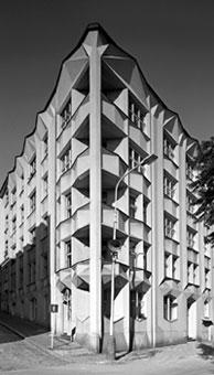 Josef Chochol: Mietshaus in Prag, Foto: Ester Havlova