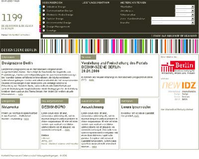 webportal designszene