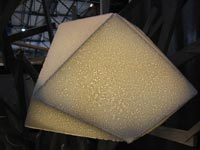 styropor design lampe