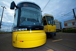 straßenbahn tram berlin bvg bauhaus design