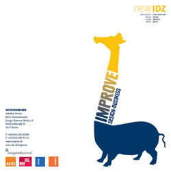IDZ Berlin: Improve Design Business Fortbildung Designwirtschaft Internationalisierung Forum