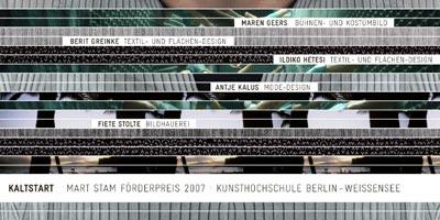 mart stam förderpreis 2007 kunsthaus bethanien berlin design