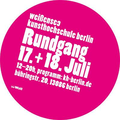 weißensee kunsthochschule berlin rundgang 2010