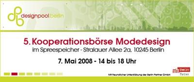 kooperationsbörse modedesign designpool berlin zwischenmeister messe spreespeicher