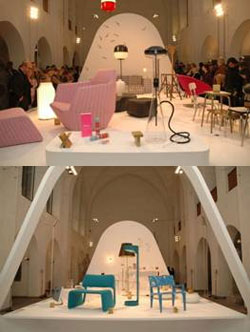 KREATIV IN BERLIN PERSPEKTIVEN DER DESIGNWIRTSCHAFT  Design Reference Paris Podiumsdiskussion Märkisches Museum Mühlhans Philippson Suermann Chemaitis