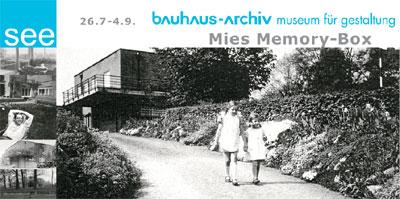 mies memory box bauhaus berlin
