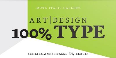 typografie typen galerie berlin design mota