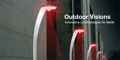 Outdoor Visions Ausstellung Lichtkonzepte Berlin Create Berlin Showroom Semperlux UdK Industrial Design