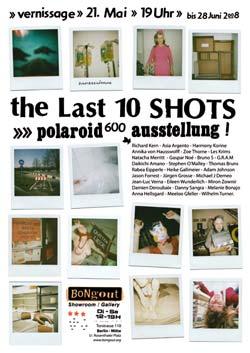 polaroid fotos ausstellung bongout galerie berlin