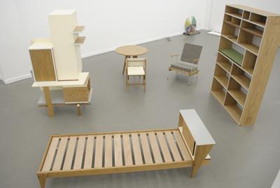 möbeldesign ausstellung berlin galerie 2011
