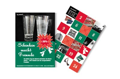 s.wert Adventskalender