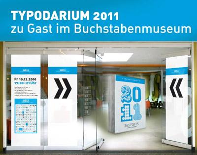 typodarium raban ruddigkeit berlin typografie 2011 kalender