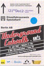 underground catwalk 07 berlin u-bahn fashionweek