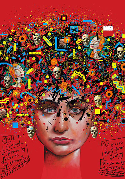 poster ausstellung berlin galerie 2015